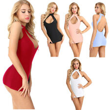 Sexy Women's Summer Cut Out Low Back Party Evening Cocktail Short Mini Dress