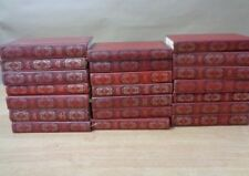 Books x21 Dennis Wheatley Set Hutchinson Library Vintage Red Gold Spines Vintage