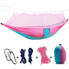 Portable Tent Hanging Hammock Mosquito Net Double Camping Hiking Intimate Jungle