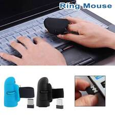 2.4 GHz USB Wireless Finger Ring Optical Mouse 1600 Dpi for All Laptop