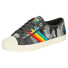 Gola Coaster Rainbow Womens Camouflage Canvas Trainers