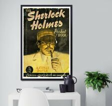 """Sherlock Holmes 1941 Book Cover POSTER! (24""""x36"""" or smaller) - Vintage - Reading"""