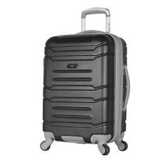 """Carry-on Spinner Luggage Expandable Travel Bag Hidden Compartment Hard Side 21"""""""