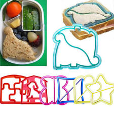 Lunch Kids Sandwich Toast Cookie Cake Bread Biscuit Food Cutter Mold Mould Craft