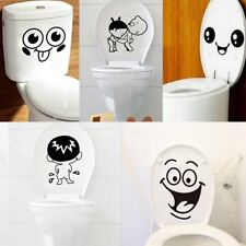 Waterproof Removable DIY Wall Sticker Home Bathroom Toilet Seat Art Decal Decor