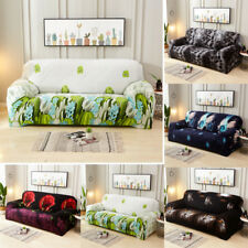 3D Printing Sofa Covers 1 2 3 4 Seater Floral Sofa Slipcover Furniture Protector