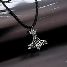 Thor Necklaces Hammer Fantastic Nordic Mjolnir Viking Gothic Male Chain Pendant