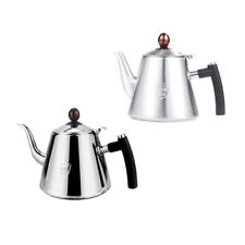 Pour Over Coffee Kettle Tea Kettle Stainless Steel Drip Kettle Teapot 1.2L