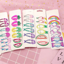 6 x Girls baby Hair Clips Snaps Hairpin Girls Baby Kids Hair Bow Accessories Hot