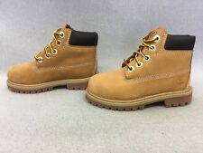 Timberland Kids' 6-Inch Premium Waterproof Boots for Toddlers, Wheat  #BR18