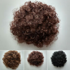 Women & Lady Short Bob Synthetic Hair Curly Fancy Dress Cosplay Party Curly Wigs
