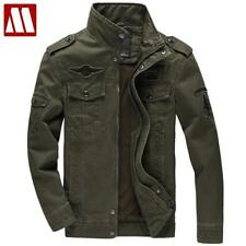 Men Military Army jackets plus size 6XL Brand 2018 Hot cost outerwear cotton emb