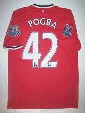 2011/2012 Manchester United Nike Paul Pogba #42 Shirt Kit Jersey Juventus France