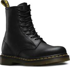 Mens Dr Martens 1460 8 Eye Black Nappa Smooth Leather Lace Up Boots New In Box