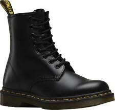 Mens Dr Martens 1460 8 Eye Black Smooth Leather Lace Up Boots New In Box