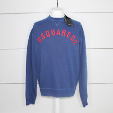 DSquared2 Logo Print Sweatshirt Dark Blue