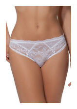 LISE CHARMEL Model Transparency Lust Panties Fancy Color White