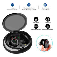 TWS Mini Wireless Earbud True Bluetooth 5.0 Stereo Earphone Bass In-Ear Headset