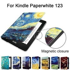 For Amazon Kindle Paperwhite 123 Slim Magnetic Smart Wake Sleep Touch Case Cover