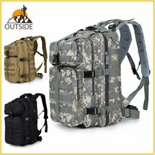 600D Waterproof Military Tactical Assault Molle Pack 35L Sling Backpack Army