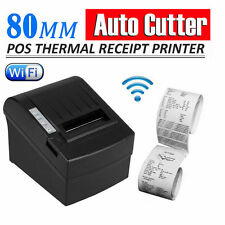 80mm Wireless Wifi Thermal Receipt Printer ESC/POS Ticket Print Auto Cutter YT