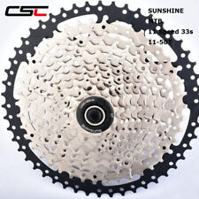 11-50T Wide Ratio bicycle MTB freewheel 11 speed cassette for mountain bike