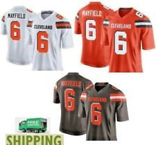 Baker Mayfield #6 Cleveland Browns Men's Jersey Authentic stitched  S-3XL