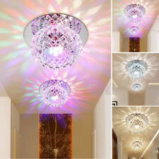 Crystal Style Colorful LED Ceiling Light Lamp Room Porch Lighting Decor