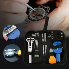 30pcs Watch Repair Tools Kit Watch Tools Watchmakers Set With Leather Sheath TO