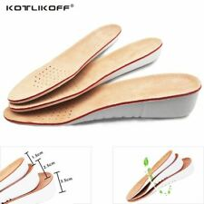 Leather Insoles Height Increase insole Pigskin shoe inserts foot care pad