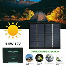 12V Solar Panel Polycrystalline Silicon DIY Battery Power Charge Module FK