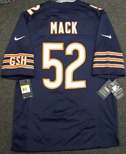 CHICAGO BEARS KHALIL MACK #52 MENS NIKE GAME JERSEY AUTHENTIC NFL NEW NWT