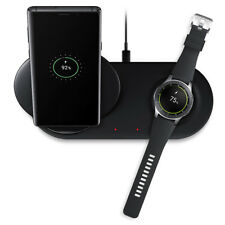 For Samsung S10 9 Note9 8 Galaxy Watch 10W Qi Wireless Fast Charging Pad Charger