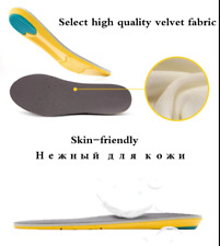 2019 Premium Yellow Insoles Inserts ALL SIZES New In Box B C D E F G NEW