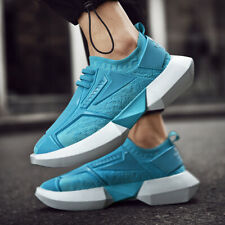 Men's Platform Running Walking Sports Shoes Casual Breathable  Athletic Sneakers