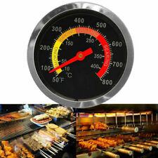 BBQ Smoker Grill Stainless Steel Thermometer Temperature Gauge 50-400℃ J8M2