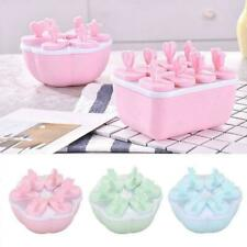 Mini Silicone Ice Cream Mould Popsicle Lolly Maker Homemade DIY Easy Icecre Q9N2