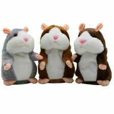 Electronic Pet Plush Toy Talking Hamster Mouse Sound Record for Baby Children