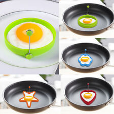 4pcs Round Silicone Omelette Mould Egg Mould Egg Pancake Rings Cute Egg Ring