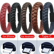 Charging Portable Leather Mini Type-C/8Pin/Micro USB & Bracelet Charger Data