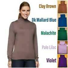 Linea by Louis Dell'Olio Whisper Knit Long Sleeve Turtleneck 3X NEW A72448