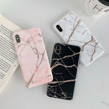 For iPhone 11 Pro XS Max XR 6s 7 8 Plus Marble Pattern Soft Slim TPU Case Cover