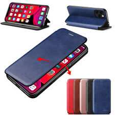 For iPhone 11 Pro Max 11 Pro Xs Max XR 8 7 Magnetic Leather Case Card Slot Cover