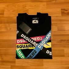 Dsquared2 Men's Tape Sweatshirt,Pullover,Logo,See Sizes, BNWT
