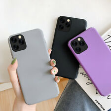 Frosted Matte Soft Silicone Case Cover For iPhone 11 Pro Max XS XR X 7 8 6 Plus