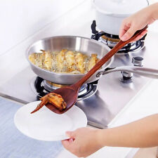 Am_ HB- Wood Long Handle Cooking Spatula Spoon Mixing Shovel Utensil Kitchen Too