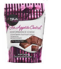 NLA for Her Her Appetite Control Chew , 30 Servings Rich Chocolate