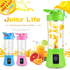 400ML Home Portable Blender Juicer Cup USB Rechargeable Electric Automatic Veget