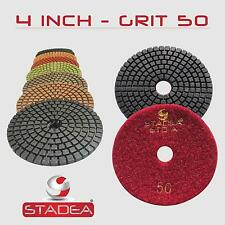 "10 Pc 4"" Premium WET Diamond Polishing Pads : Grit 3000"