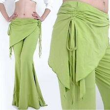 SF07# Belly Dance Costume Cotton Tribal Yoga Pants 13 Colors